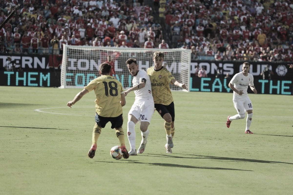 Gols e melhores momentos Arsenal 3x0 Fiorentina pela Champions Cup