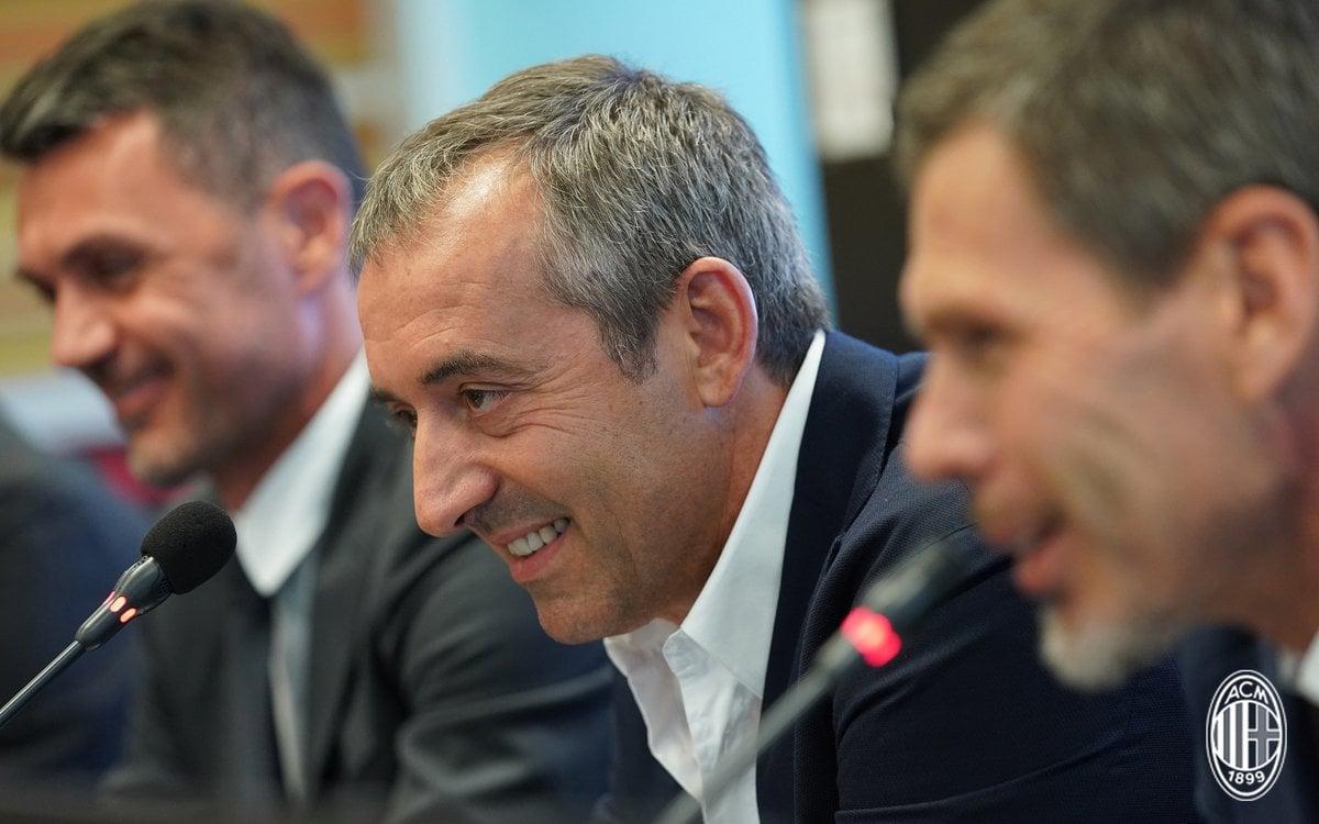 """Milan, la presentazione di Giampaolo: """"Obbligati a risultati importanti. Lo dice la storia di questo club"""""""