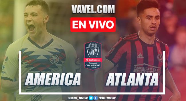 Goles y resumen del América 3-0 Atlanta United en Liga de Campeones 2020
