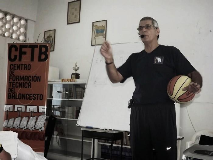 """Bruno D'Adezzio y """"Somos Baloncesto"""" por la FVB"""