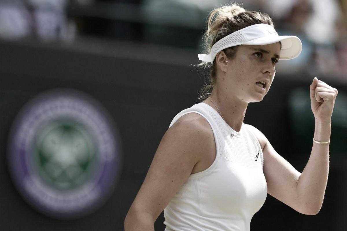 Svitolina passa por Muchova em Wimbledon e alcança inédita semifinal de Slam