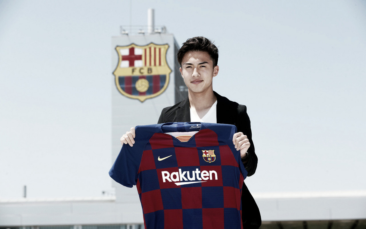 """Hiroki Abe: """"Es un sueño estar en el Barça"""""""