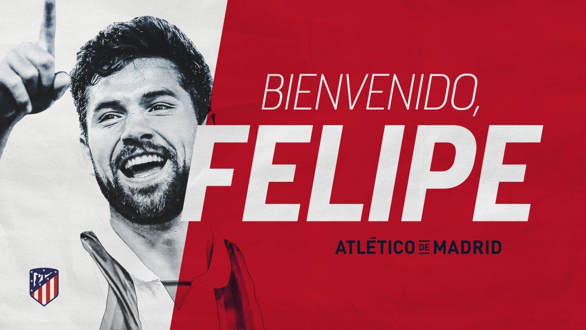 Felipe em Madrid por três temporadas