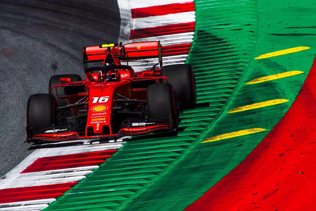 Formula 1 - Gran Premio d'Austria: libere 3 a Leclerc