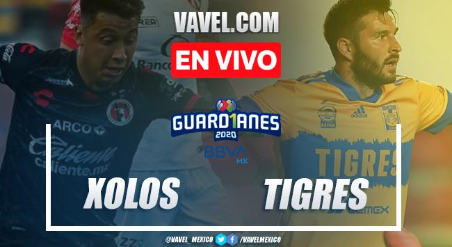 Xolos Tijuana vs Tigres EN VIVO cómo ver transmisión TV online en Liga MX 2020 (0-0)