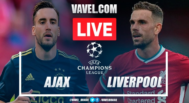 Gol e melhores momentos para Ajax 0x1 Liverpool pela Champions League 2020-21