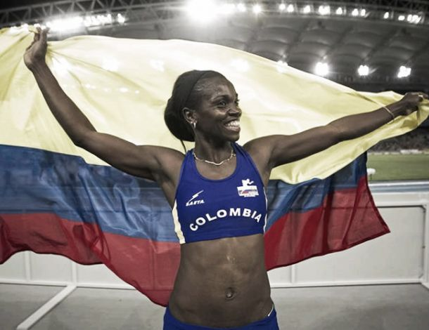 Caterine Ibargüen registra marca para los Juegos Olímpicos