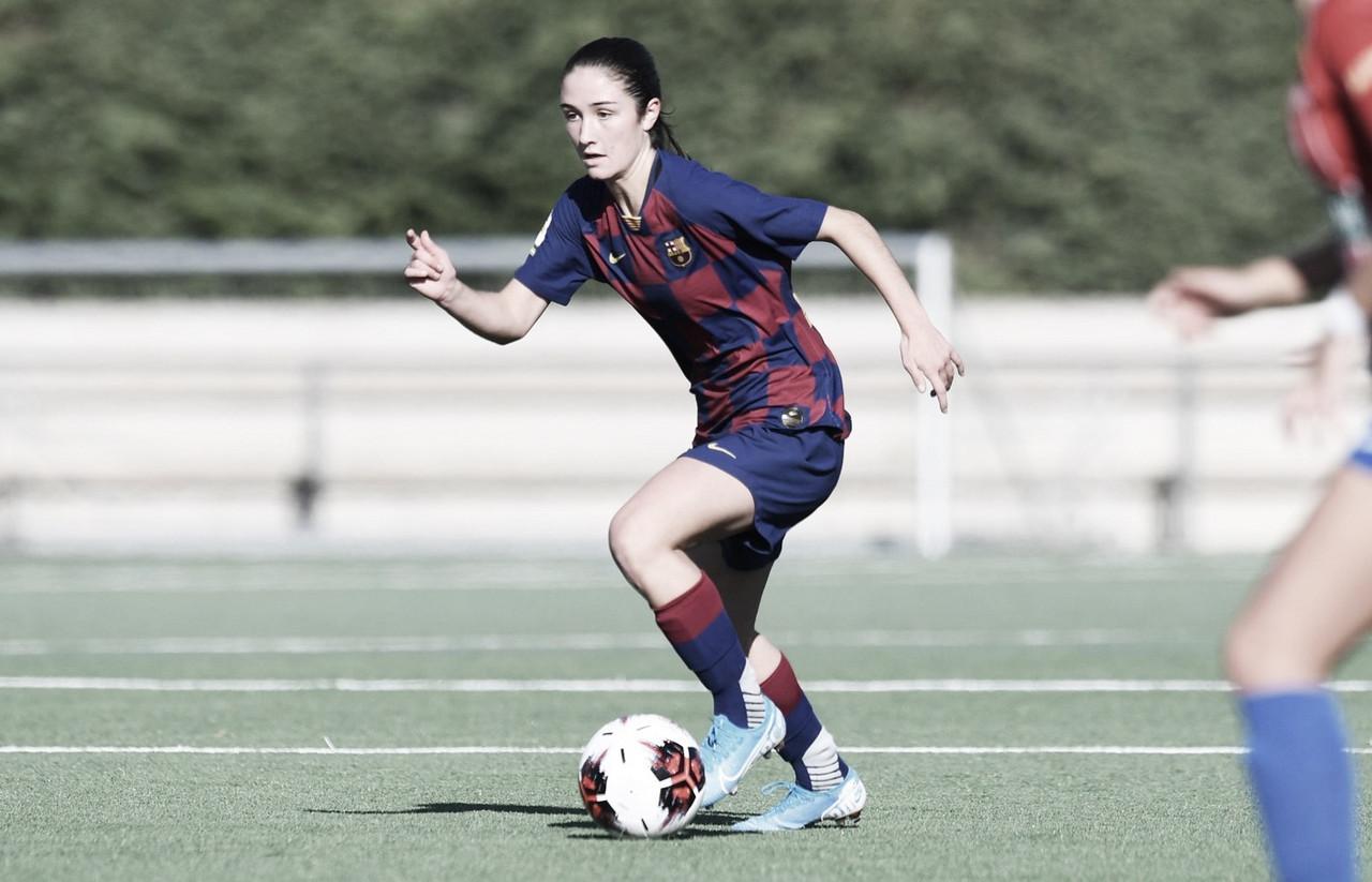 """Bruna Vilamala: """"Marcar con el primer equipo es algo con lo que sueñas desde las categorías inferiores"""""""