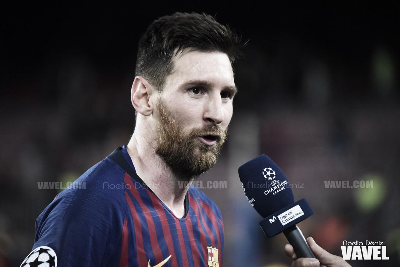 Otro palo para Leo Messi