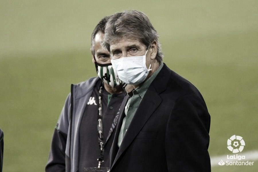 Pellegrini como entrenador verdiblanco. Fuente: La Liga