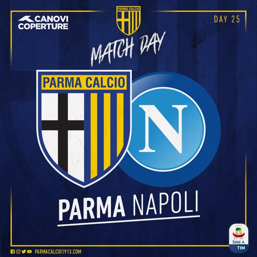Il Napoli va a Parma: gli azzurri devono ritrovare gol e la vittoria in campionato
