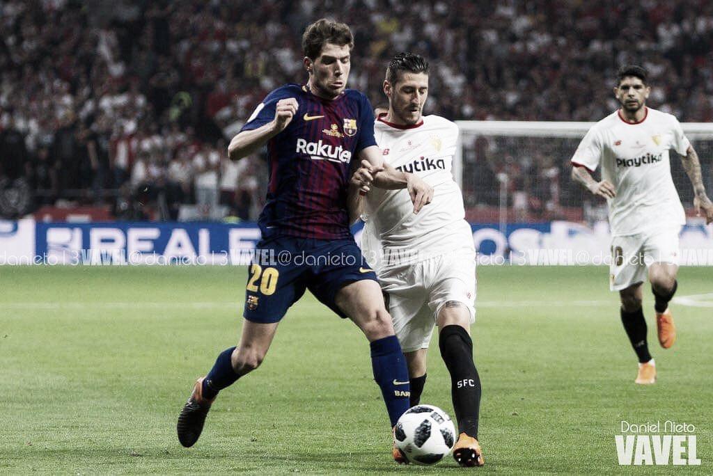 Resumen Sevilla FC 2-4 FC Barcelona en LaLiga Santander 2018