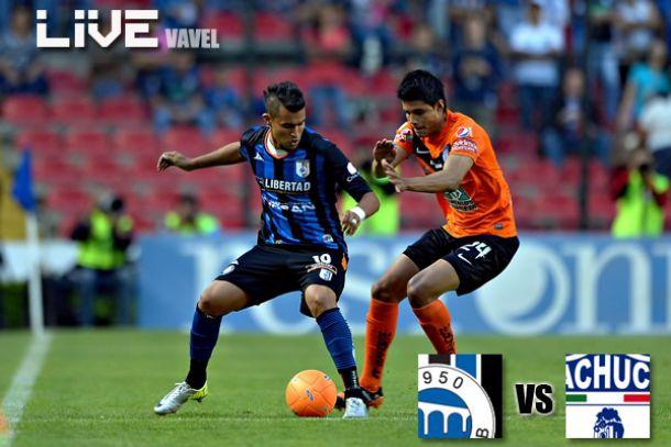 Resultado Querétaro - Pachuca en Liga MX 2014 (1-0)