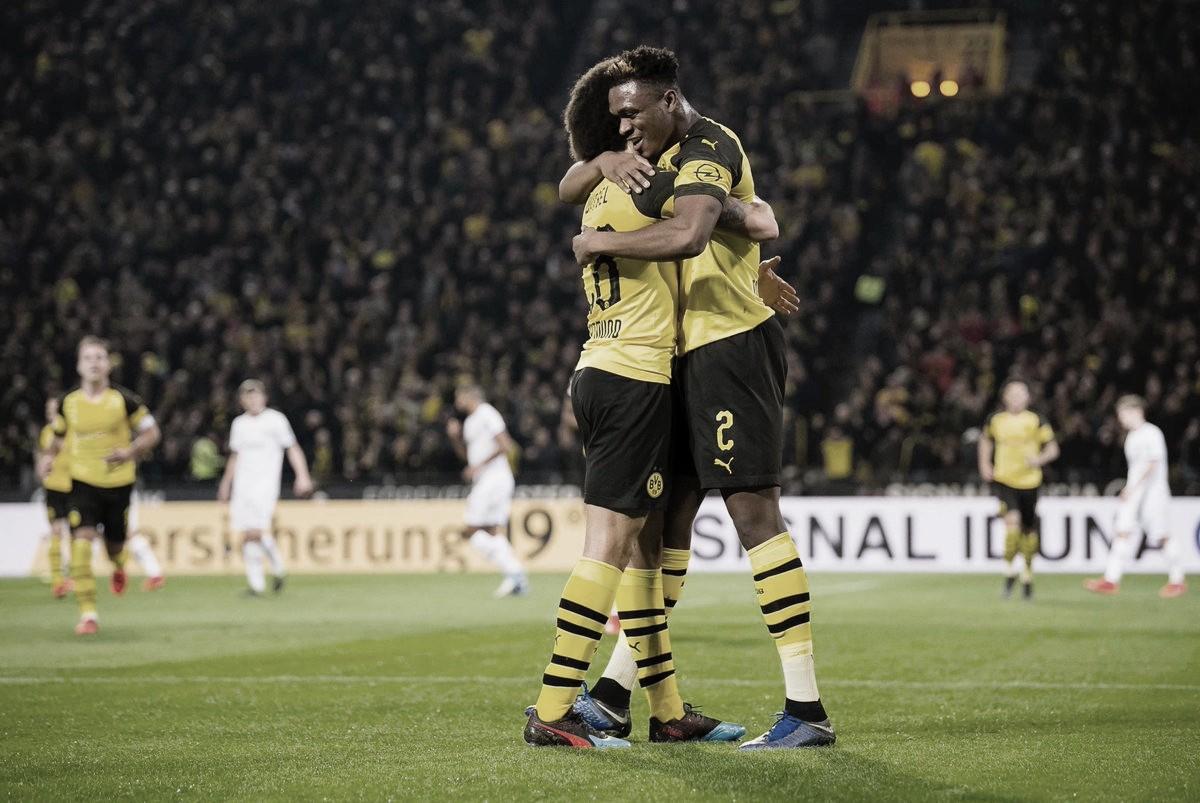 Borussia Dortmund vence Bayer Leverkusen e mantém vantagem na liderança da Bundesliga