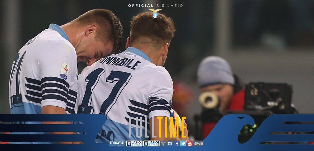 Serie A- La Lazio porta a casa il Derby: 3-0 alla Roma