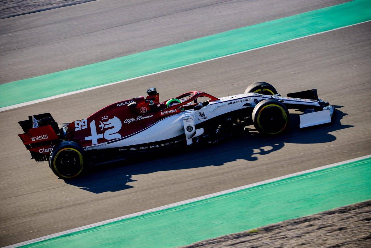 Test Formula 1, Day-1: Giovinazzi davanti a tutti