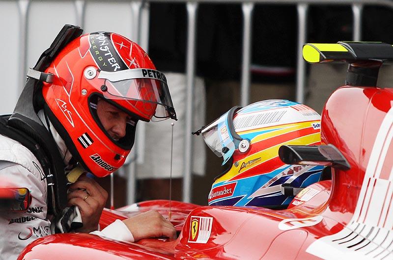Fernando Alonso se queda a las puertas de superar el récord de Michael Schumacher
