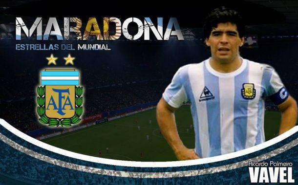 Estrellas de los Mundiales: Diego Armando Maradona