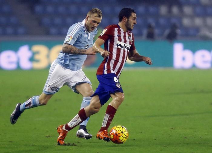 El Atlético de Madrid se enfrentará al Celta en cuartos de final de la Copa del Rey