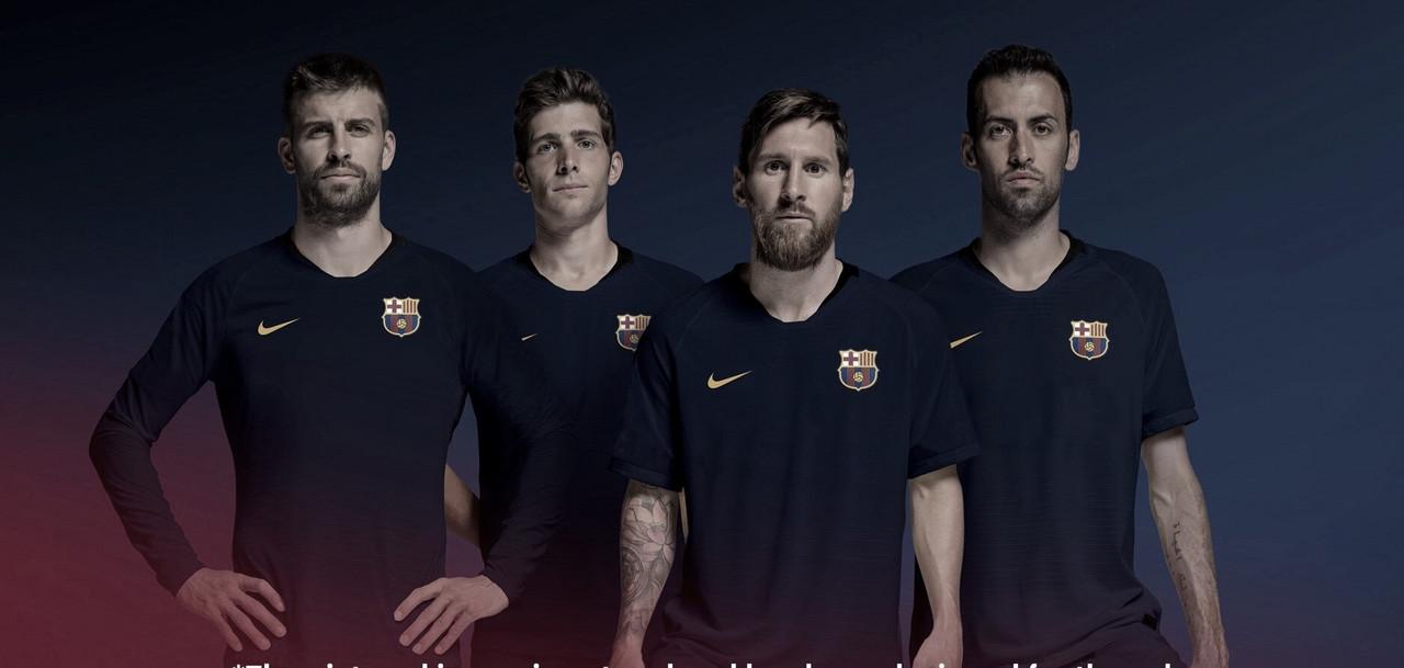 Após 16 anos, Barcelona tem um novo possível escudo para a próxima temporada