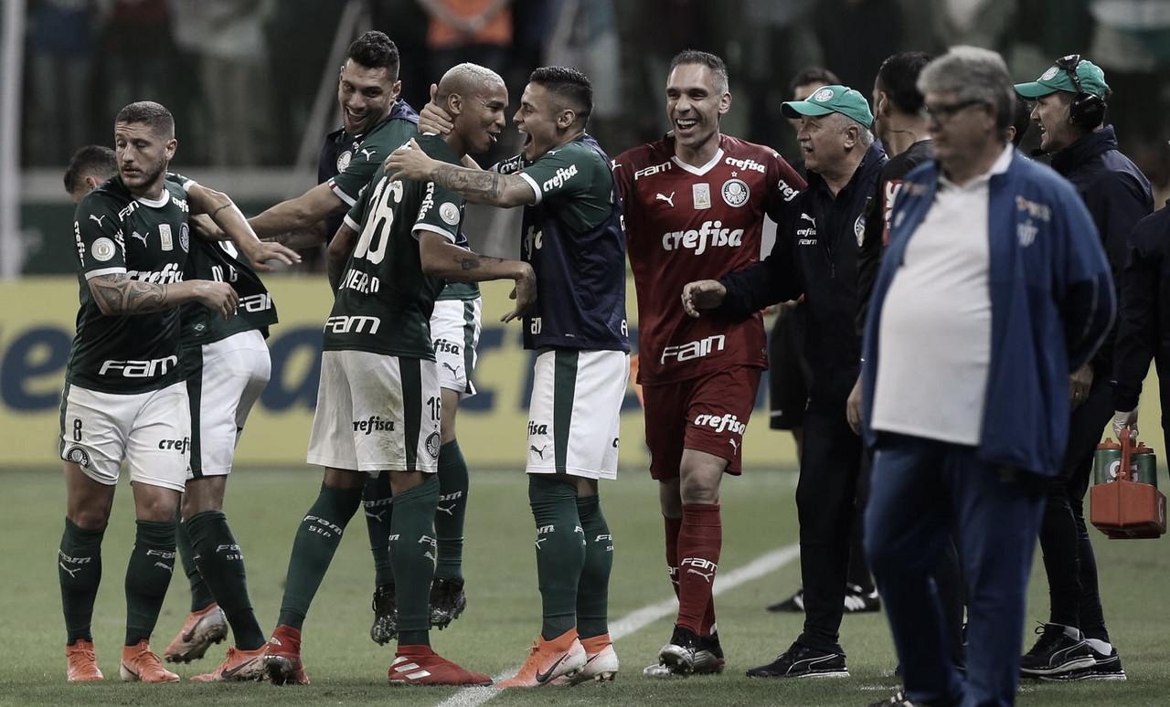 Palmeiras derrota Avaí e reassume liderança do Brasileirão