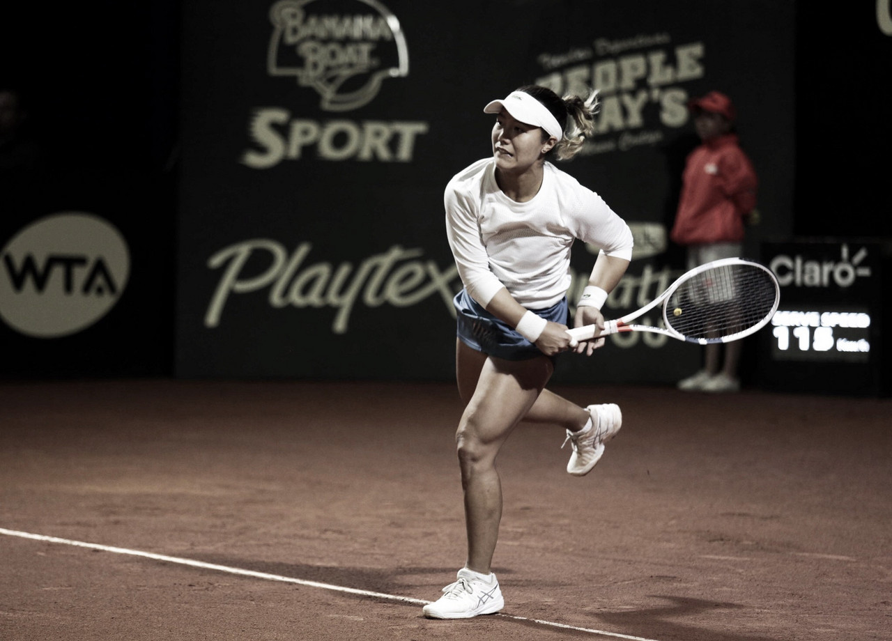 Lucky loser, Kristie Ahn surpreende e elimina Ostapenko na estreia em Bogotá