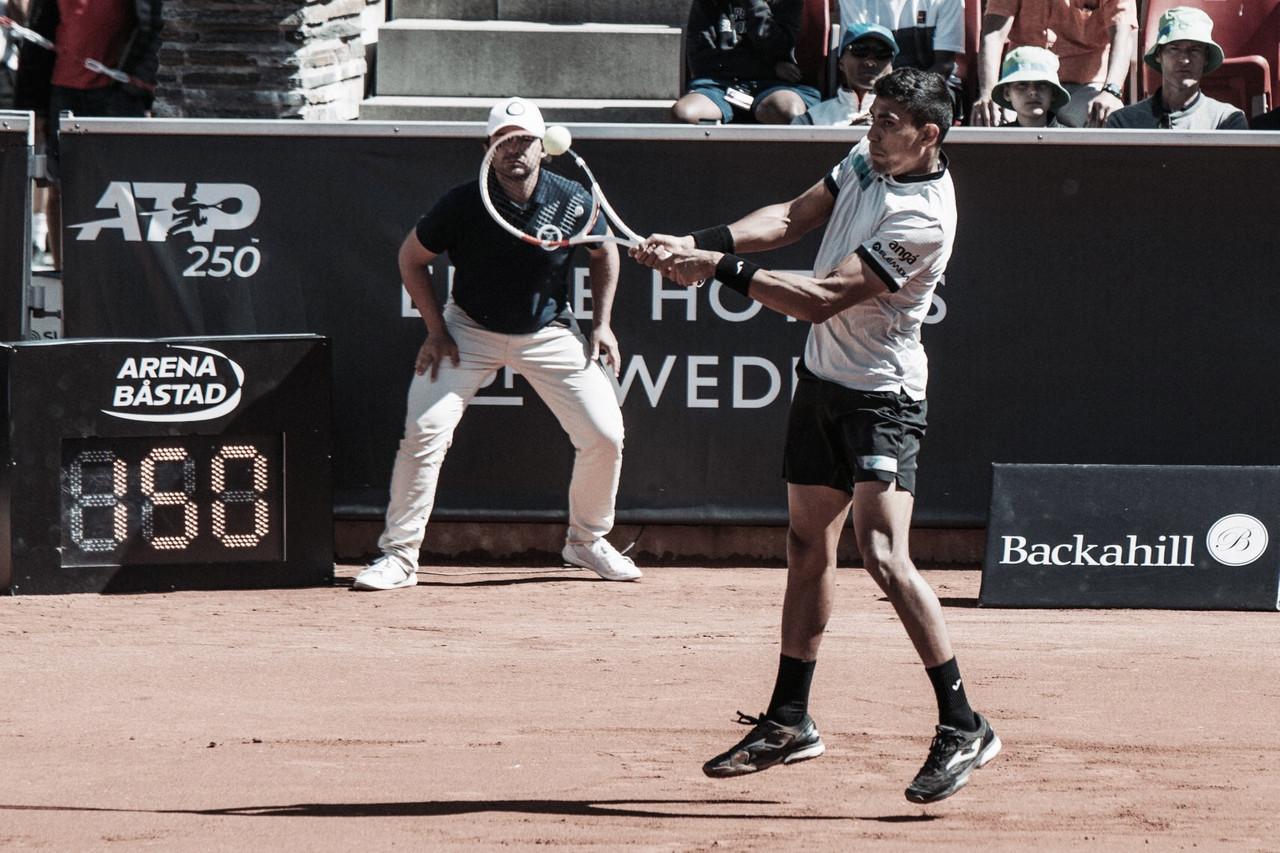 Vindo de título, Thiago Monteiro cai para Ymer na estreia do ATP 250 de Bastad