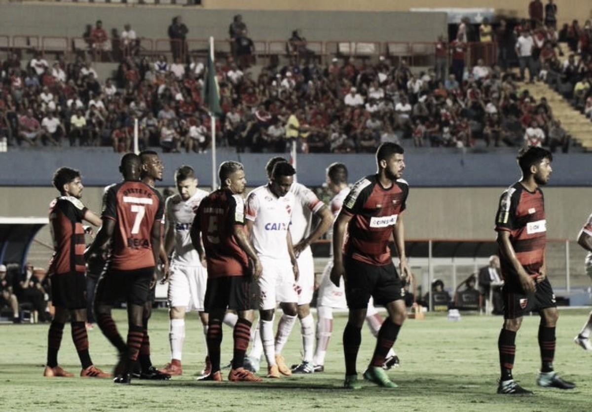 Na abertura da 25ª rodada da Série B, Vila Nova e Oeste ficam no empate