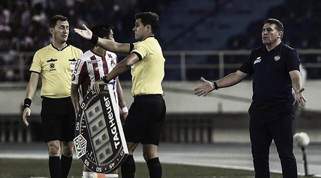 """Luis Fernando Suárez: """"nos equivocamos en la forma de atacar al principio del juego"""""""