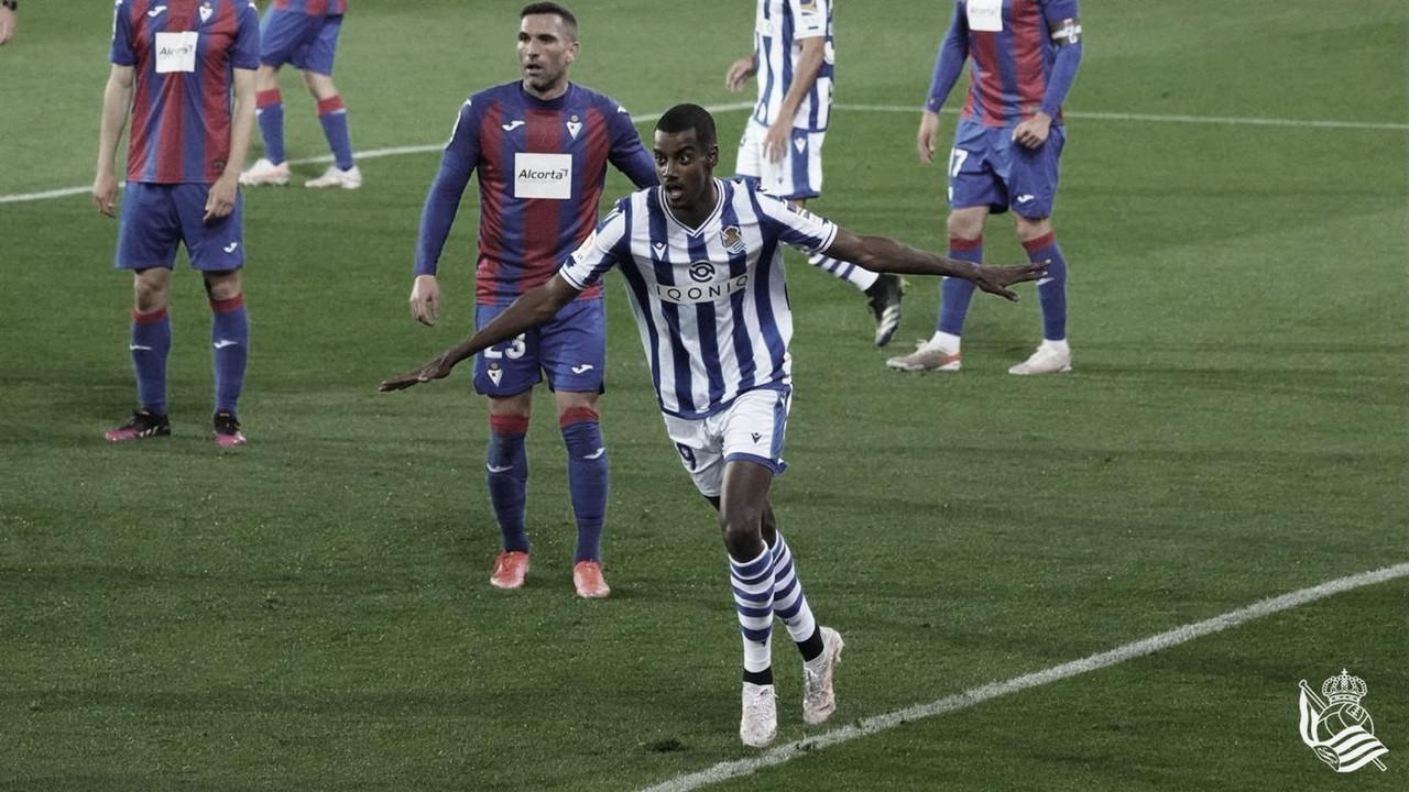 SD Eibar - Real Sociedad: Puntuaciones de la Real Sociadad en la jornada 32