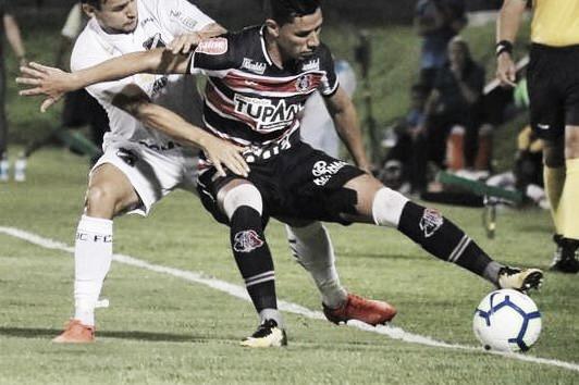 Para reverter vantagem, Santa Cruz recebe ABC pela Copa do Brasil