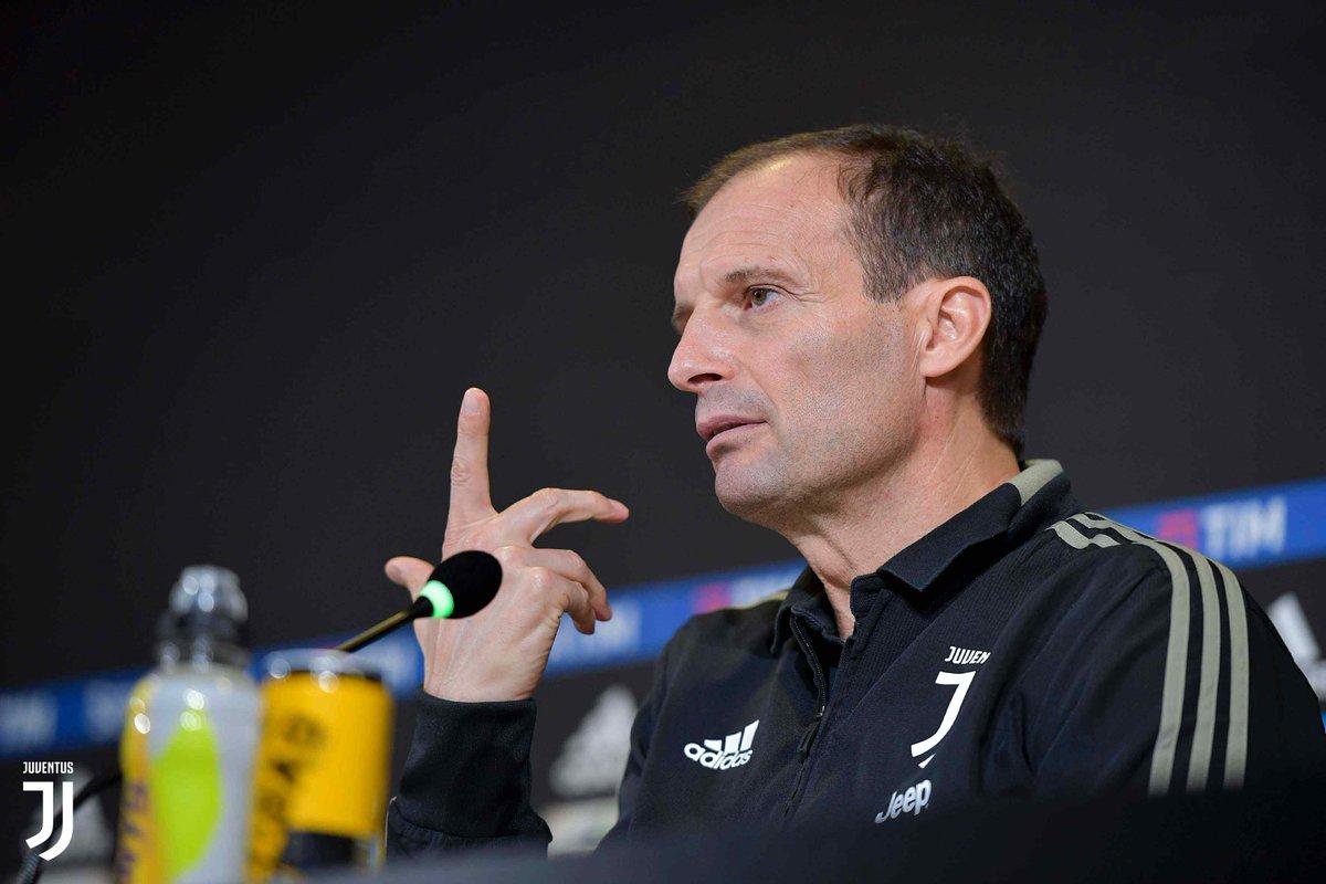 """Juventus, Allegri in conferenza: """"Scudetto? Noi dobbiamo fare punti!"""""""