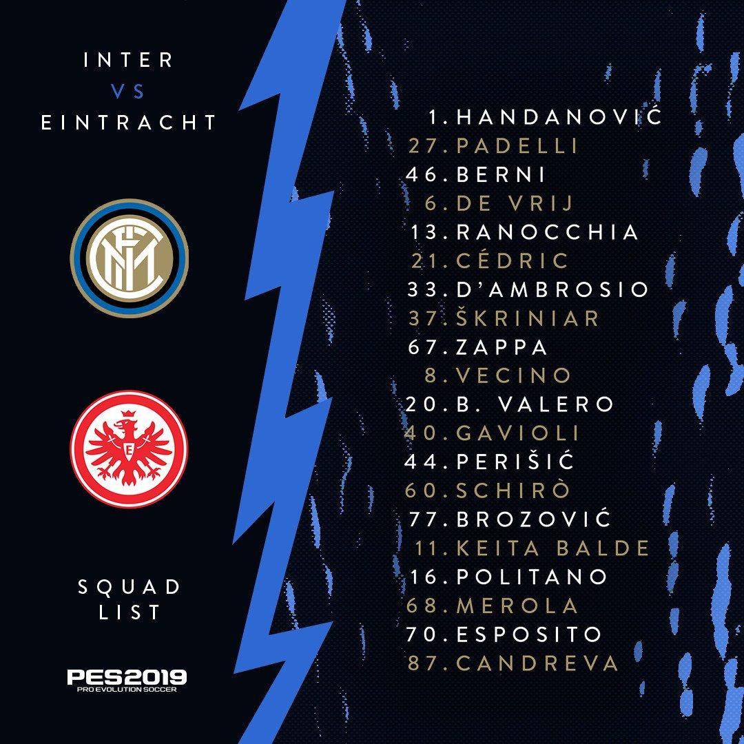 Europa League - Le parole di Spalletti e Skriniar in vista dell'Eintracht