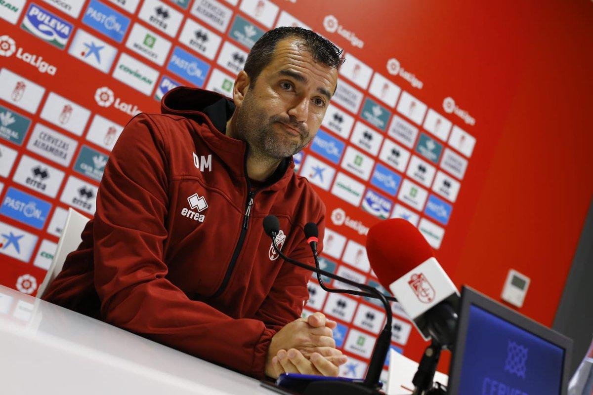 """Diego Martínez: """"Si todos estamos sobresalientes, podemos sacar los tres puntos"""""""