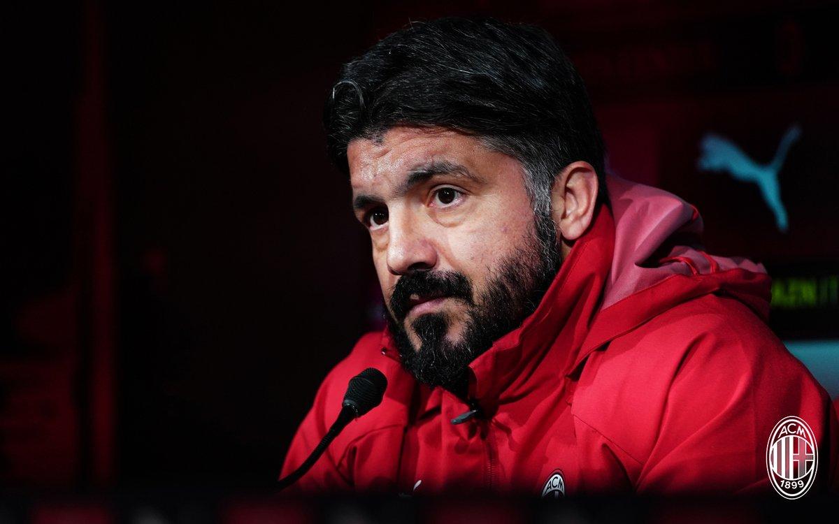 Milan, le parole di Gattuso ed i convocati rossoneri