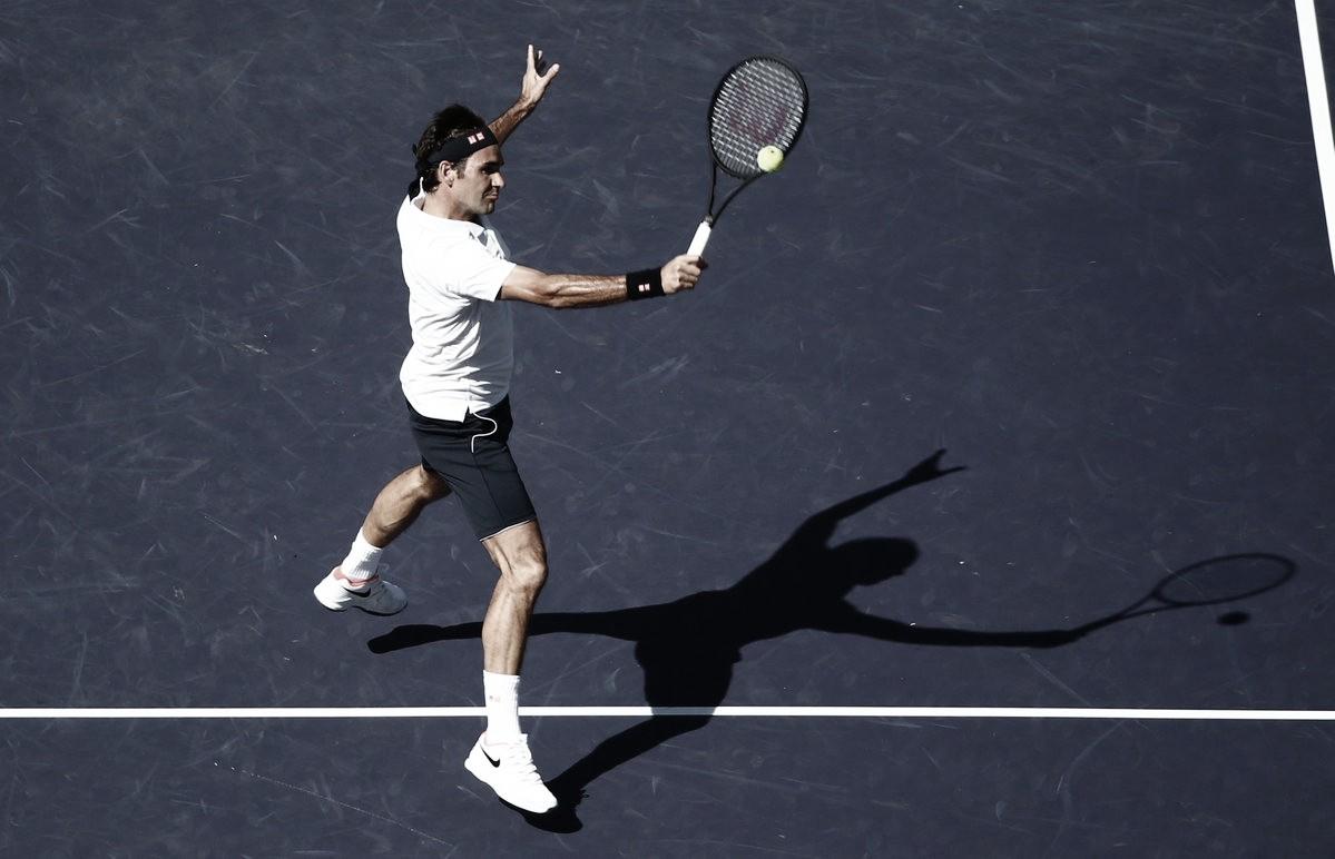 Federer passa fácil por Edmund e avança às quartas de Indian Wells