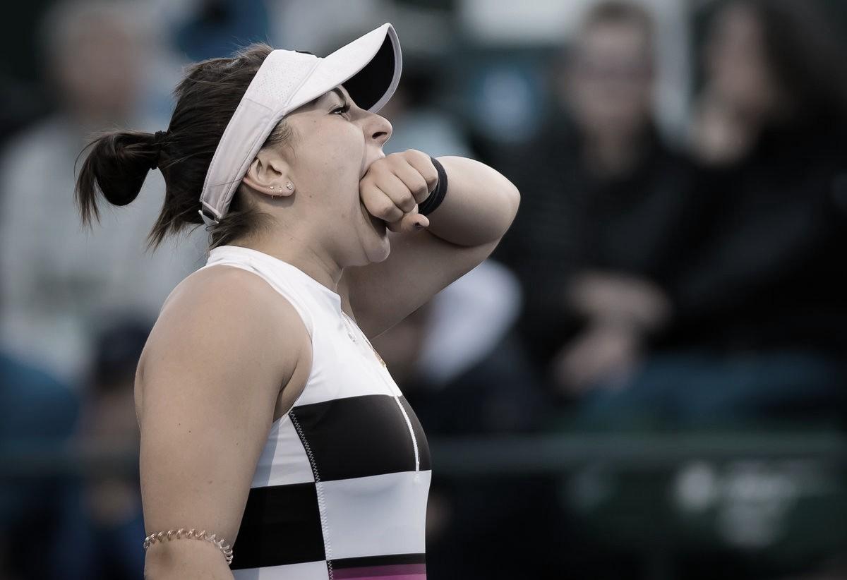 Andreescu vence batalha contra Svitolina e avança à maior final da carreira em Indian Wells