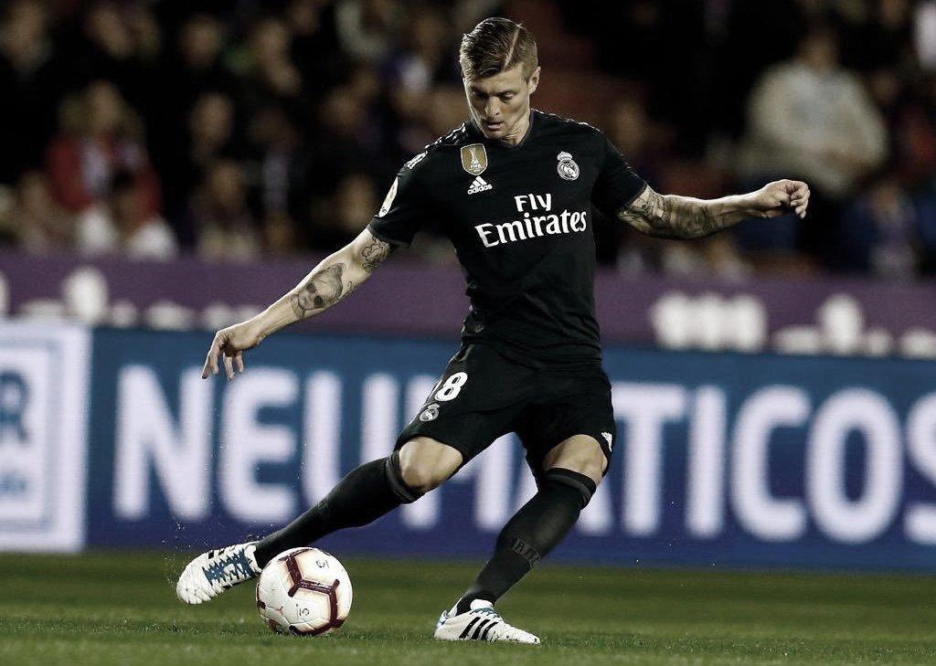 Toni Kroos cumple un lustro en el Real Madrid