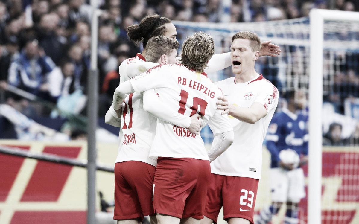 Timo Werner llevó al Leipzig al tercer puesto