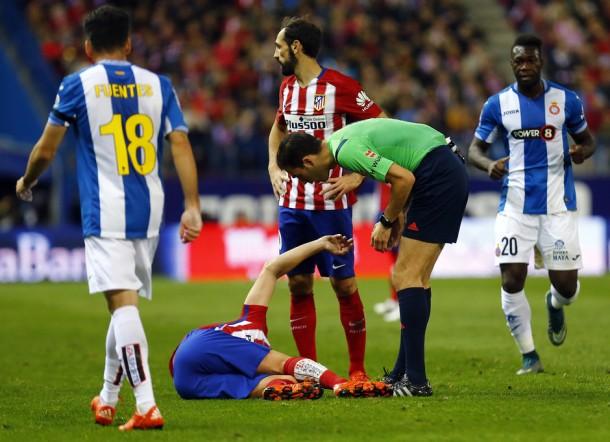 Tiago sufre una fractura en la tibia