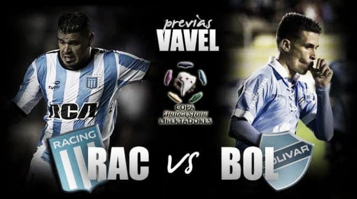 Previa Racing - Bolívar: el primer partido del grupo 3