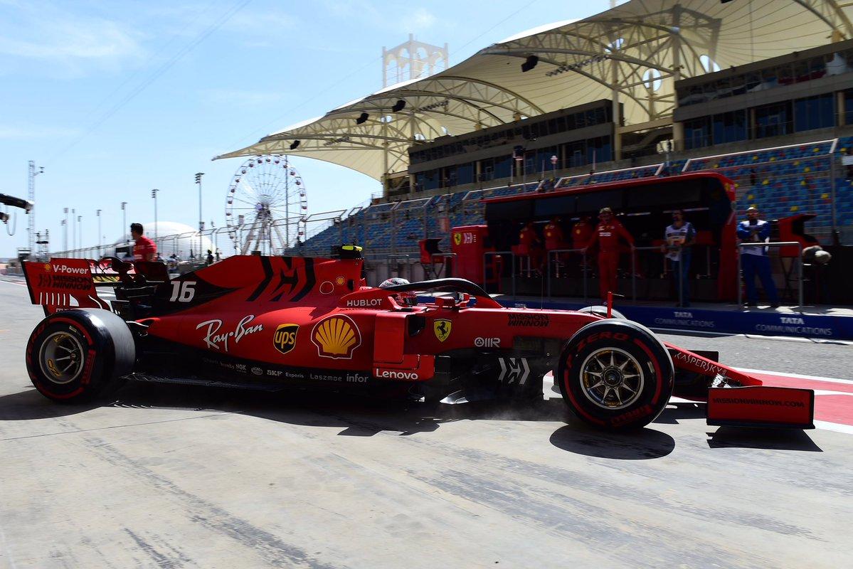 Formula 1 - Gran Premio del Bahrein: Ferrari davanti nelle Libere 1