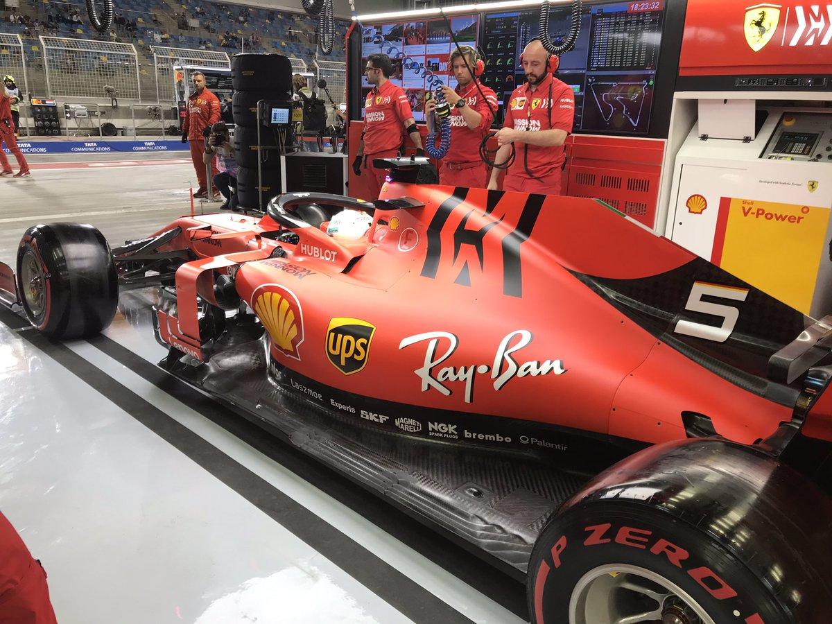 Formula 1 GP Azerbajian- Ferrari dominanti nelle seconde libere