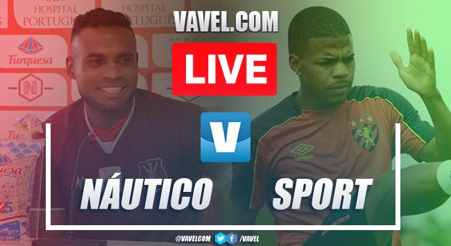 Gols e melhores momentos Náutico 2x0 Sport pela Copa do Nordeste 2020