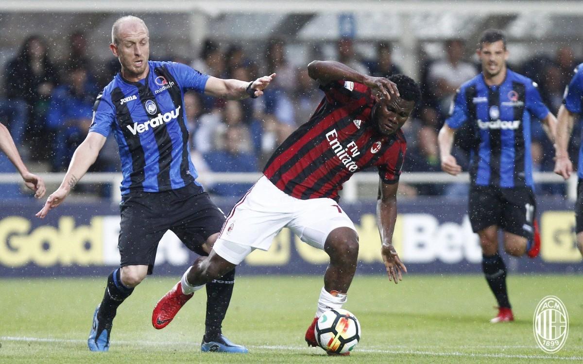 Atalanta-Milan 1-1, Masiello riprende i rossoneri nel recupero