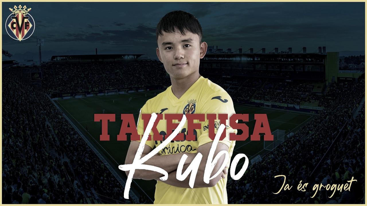Takefusa Kubo, refuerzo de quilates para el Villarreal CF