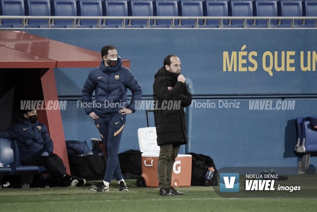 """Lluís Cortés: """"El equipo está preparado para ganar todos los partidos"""""""