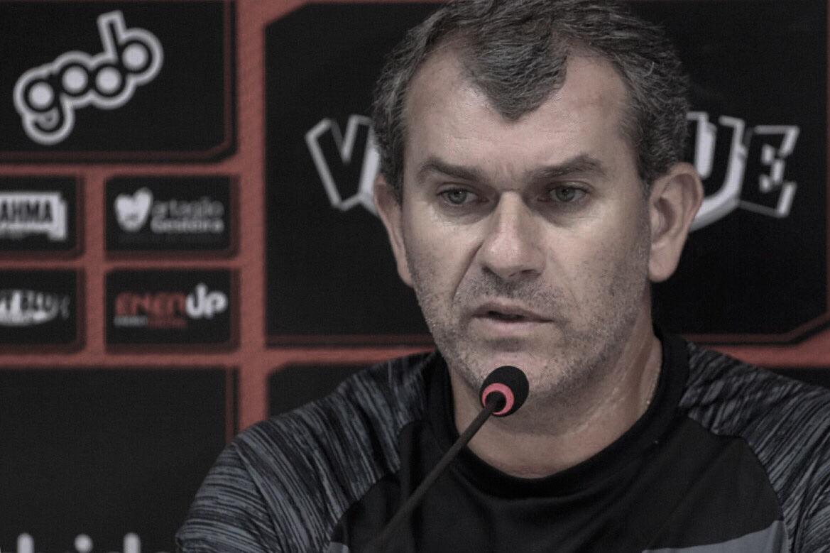 """Tencati comemora primeiro triunfo no comando do Vitória: """"Resultado para dar tranquilidade"""""""