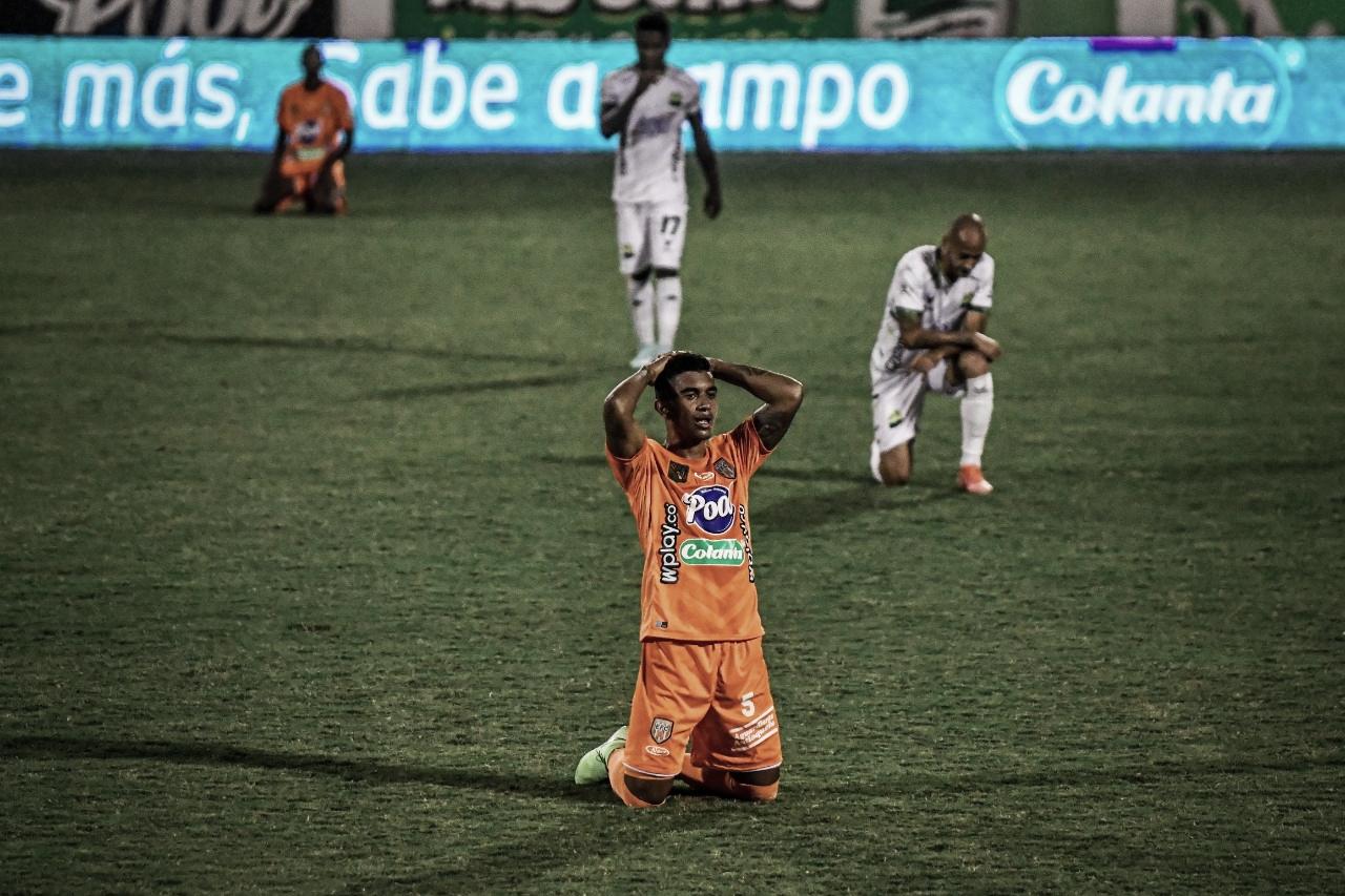 Envigado cayó ante Bucaramanga y se despide de la Copa BetPlay