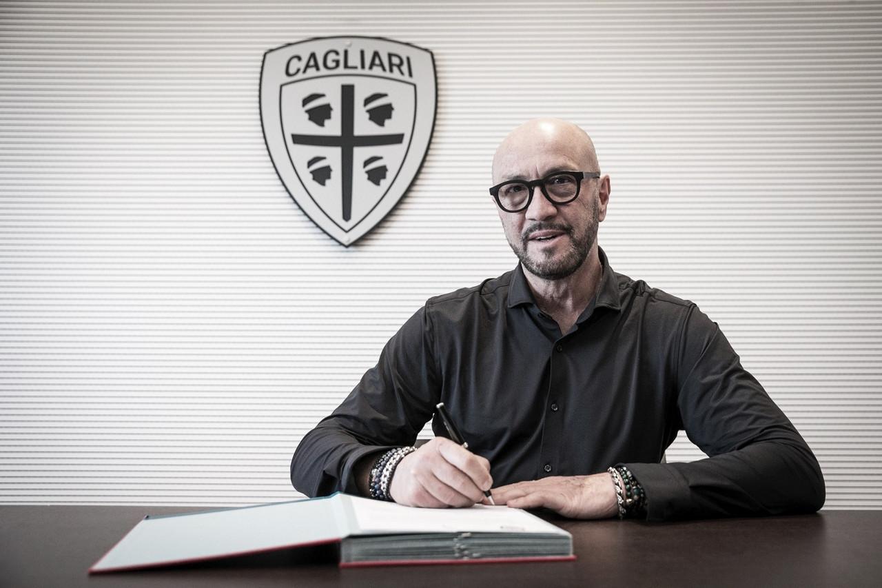 Pressionado, Cagliari apresenta Walter Zenga como novo treinador